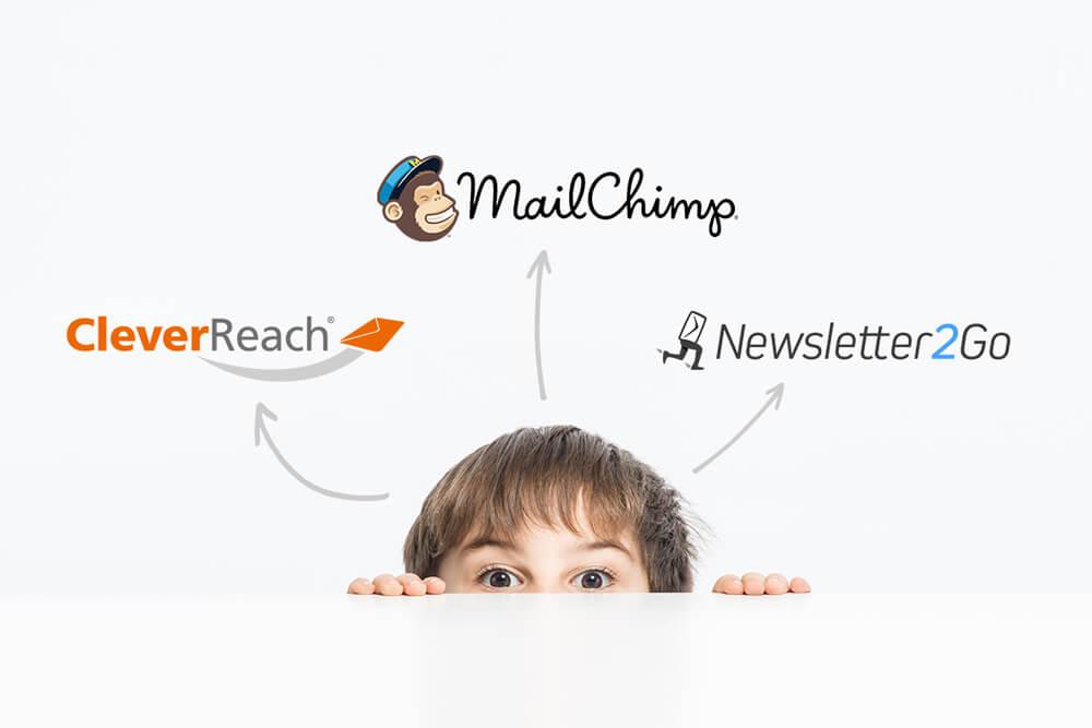 Verbinde Deine Galerie mit führenden Newsletter-Anbietern