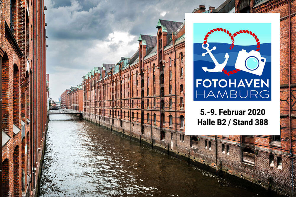 Besuch uns auf der FOTOHAVEN Hamburg