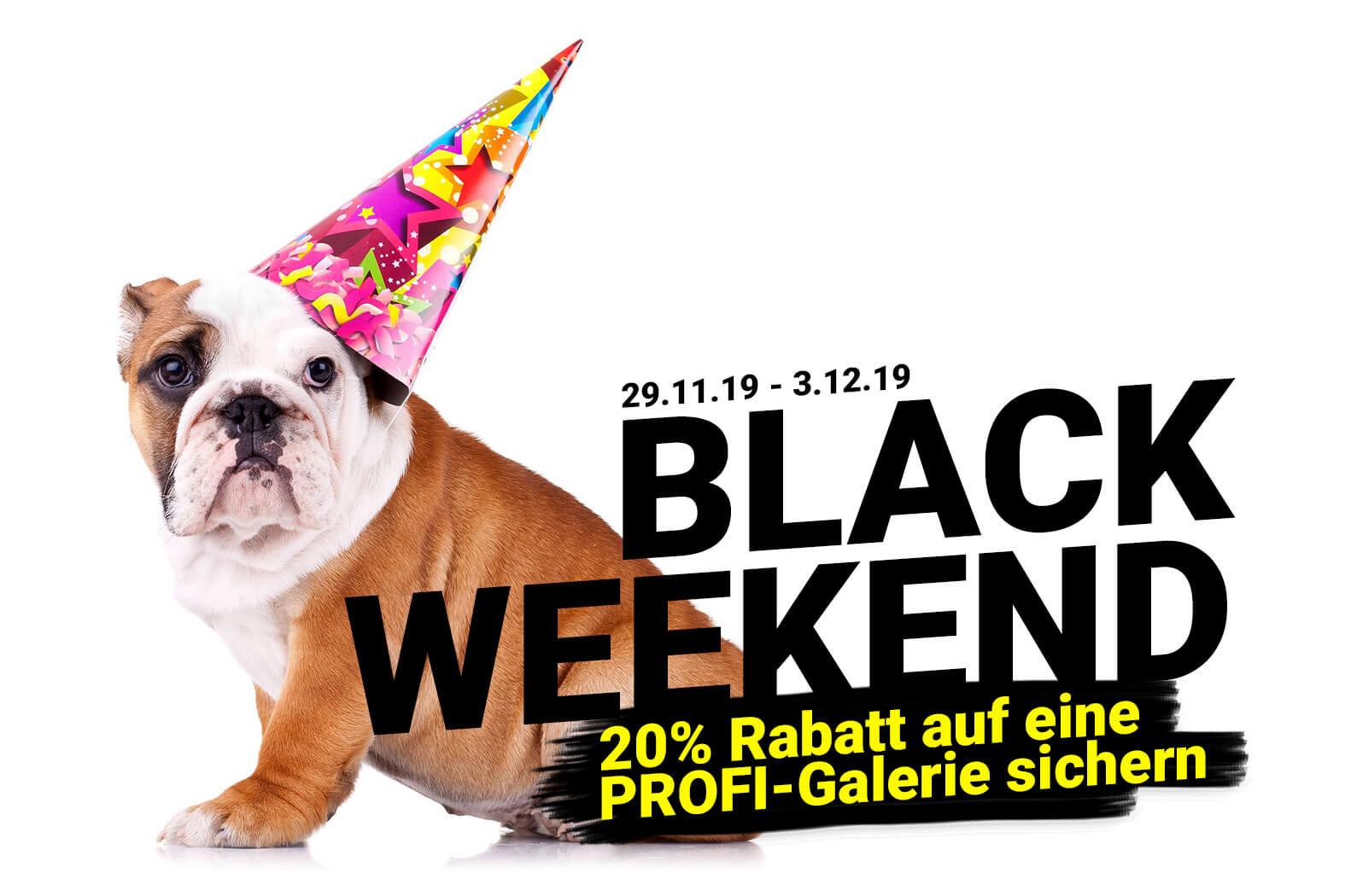 Black Weekend – Rabatt für Fotografen und Studios