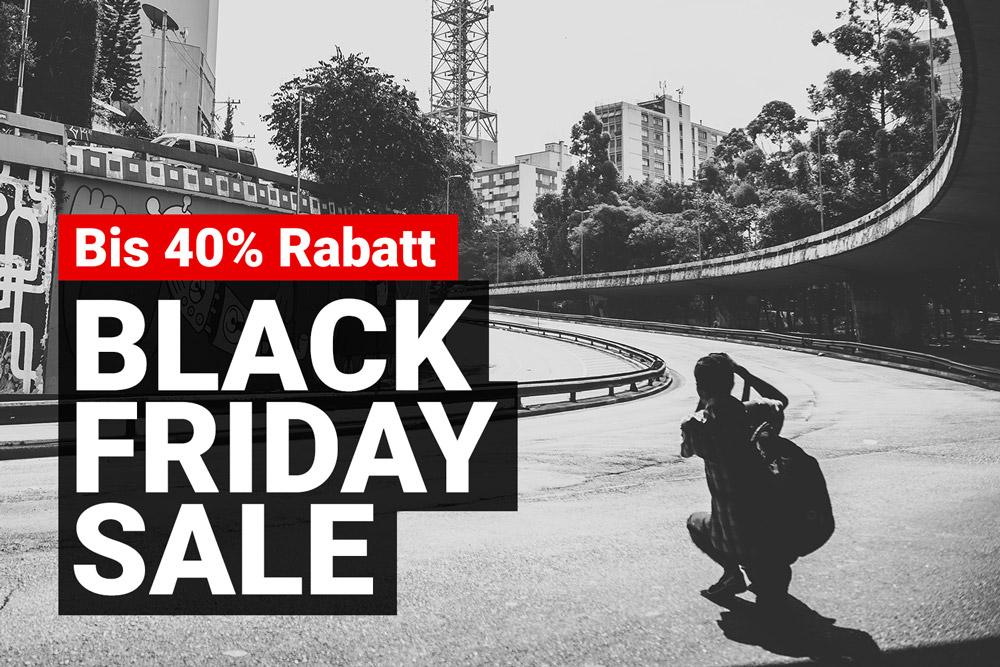 Black Friday Sale 2020 – bis zu 40% Rabatt für Fotografen
