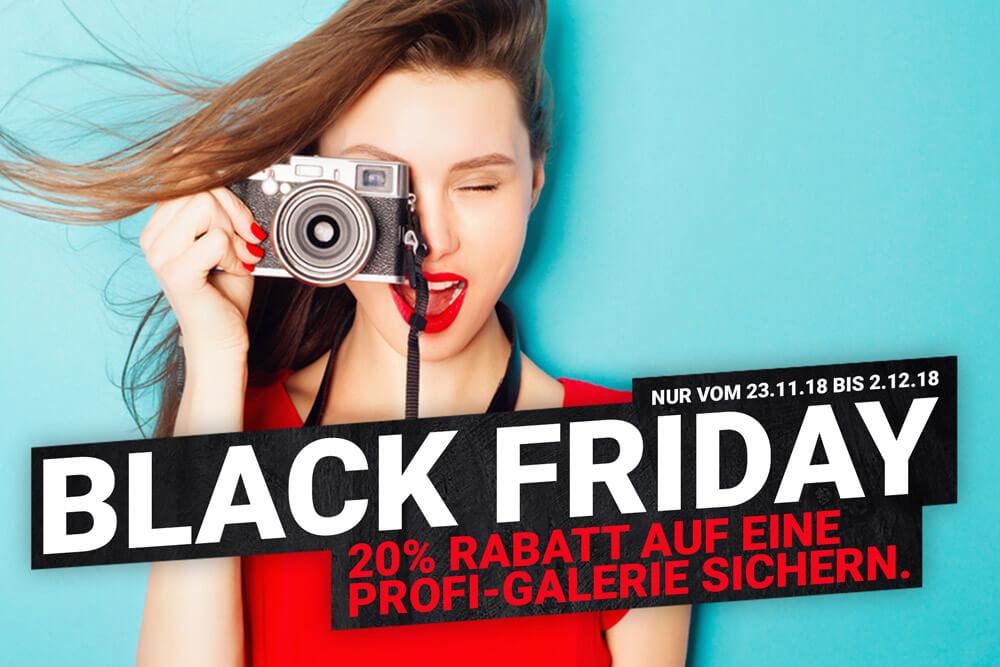 Black Friday Sale + 20% Rabatt auf Onlinegalerie sichern