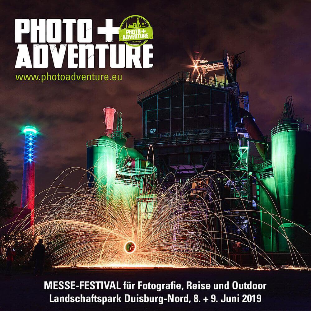 Tickets für die PHOTO+ADVENTURE 2019 in Duisburg zu gewinnen